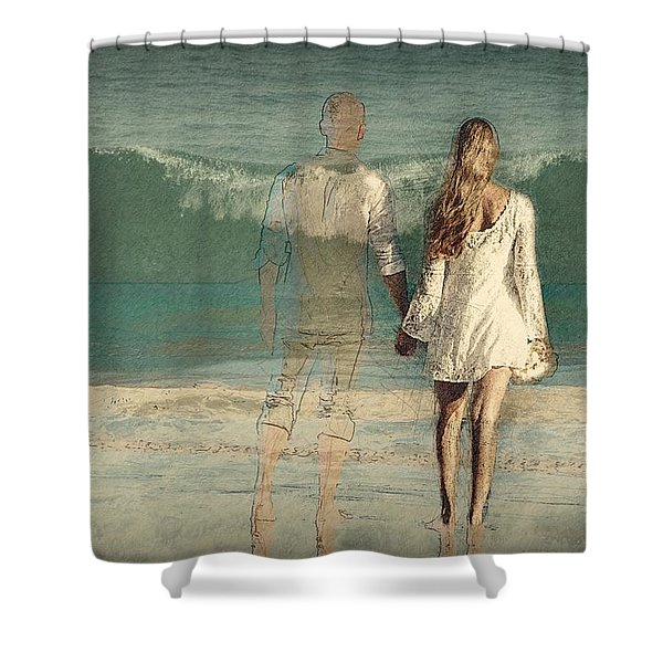 I'll Always Be Beside You Shower Curtain