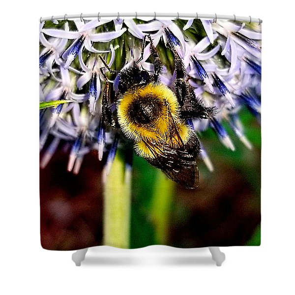 I'll Bee Back Shower Curtain