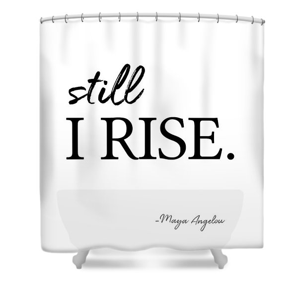 I'll Rise #minimalism 3 Shower Curtain