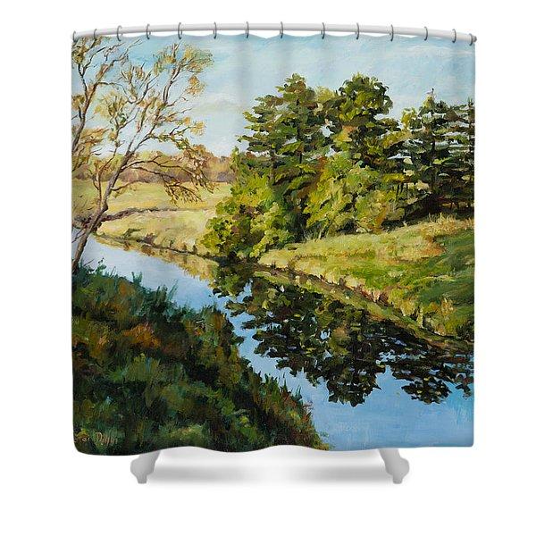 Illinois Countryside  Shower Curtain
