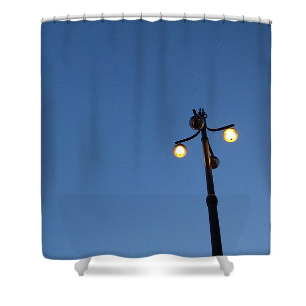 Illuminated Shower Curtain