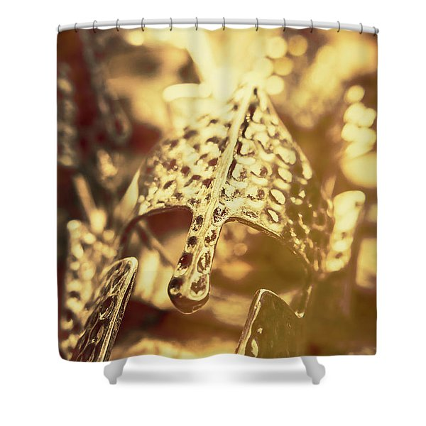 Illuminating The Dark Ages Shower Curtain