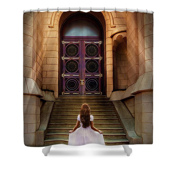 I'm Going There Some Day Shower Curtain