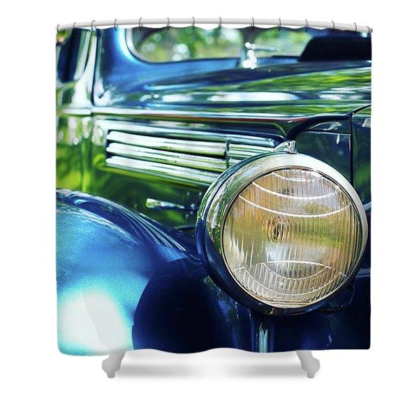 Vintage Packard Shower Curtain