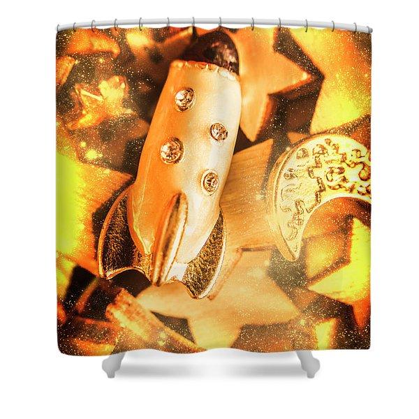 Imaginary Adventure Shower Curtain