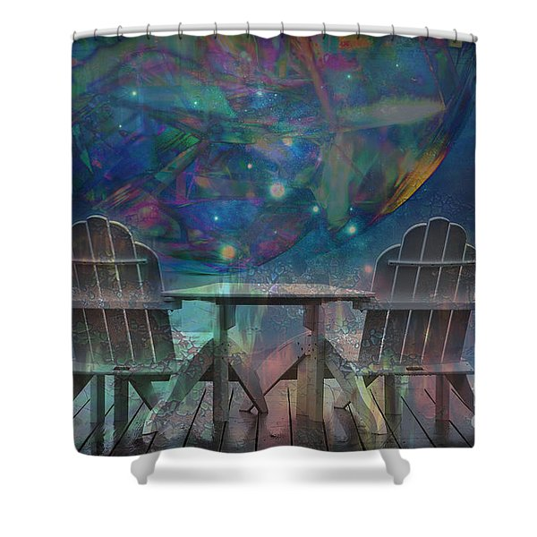 Imagine 2015 Shower Curtain