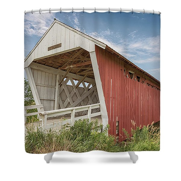 Imes Covered Bridge Shower Curtain