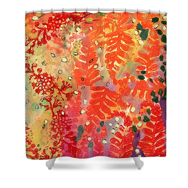 Immersed In Summer Part 3 Of 3 Shower Curtain