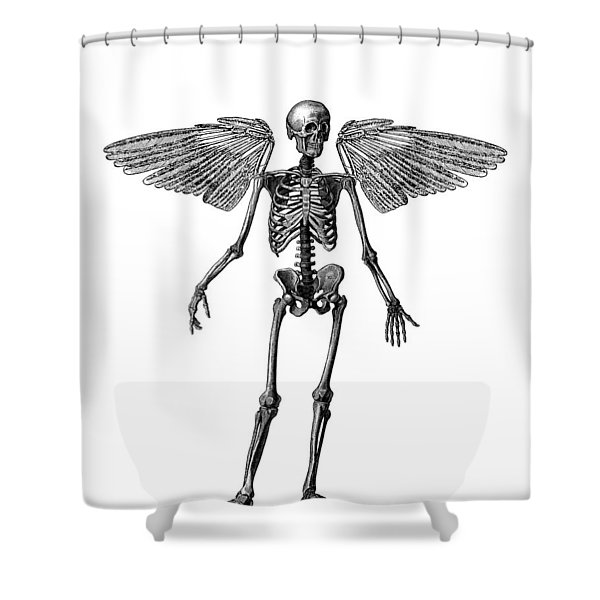 Immortality Shower Curtain