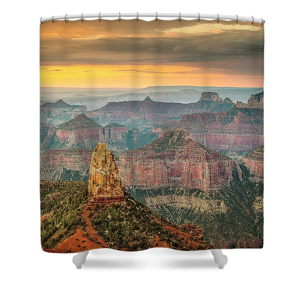 Imperial Point Grand Canyon Shower Curtain