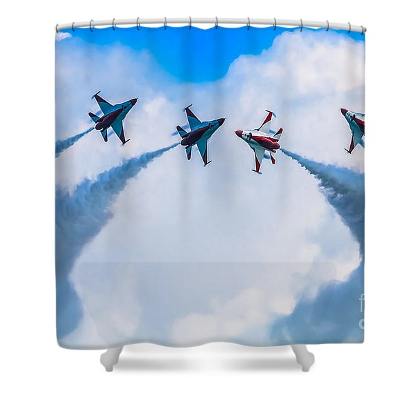 Implode Shower Curtain