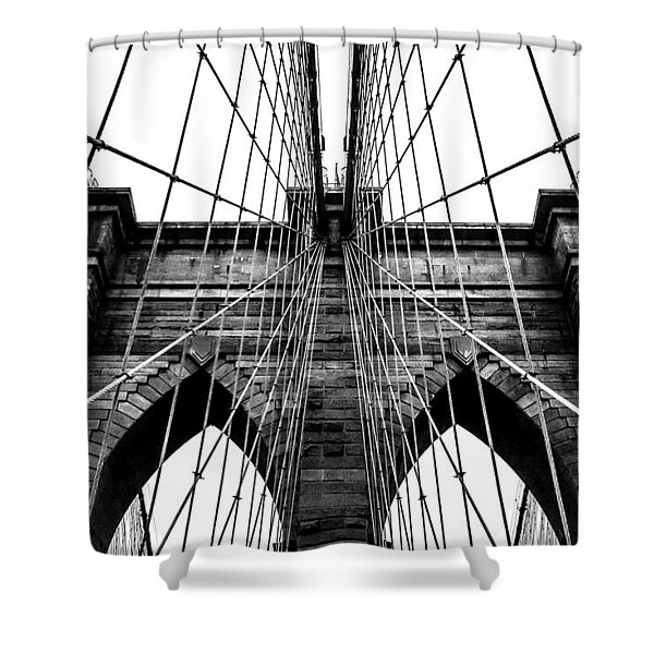 Imposing Arches Shower Curtain
