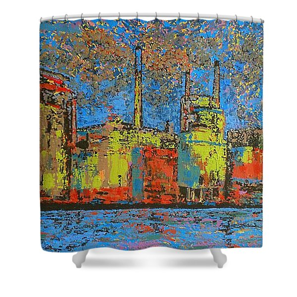 Impression - Irving Mill Shower Curtain