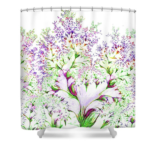 Impressions Of Spring Shower Curtain