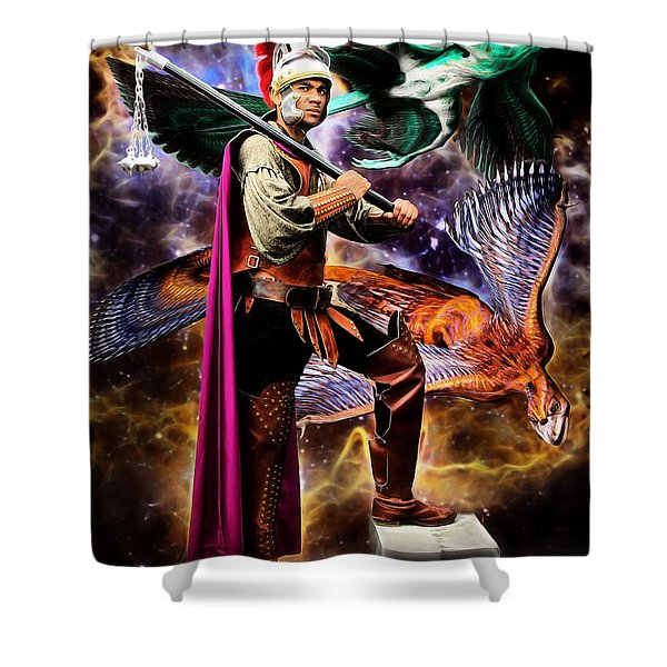In An Alternate Reality Shower Curtain