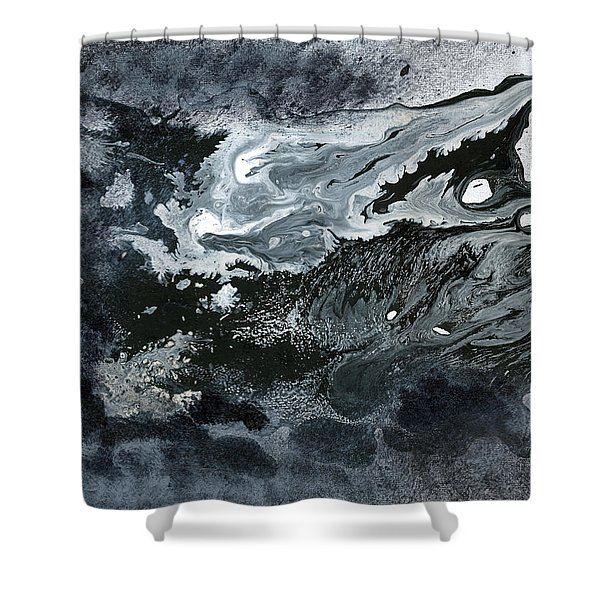 In Ashes Shower Curtain