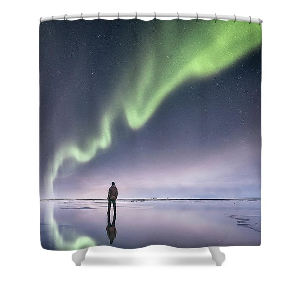 In Awe Shower Curtain