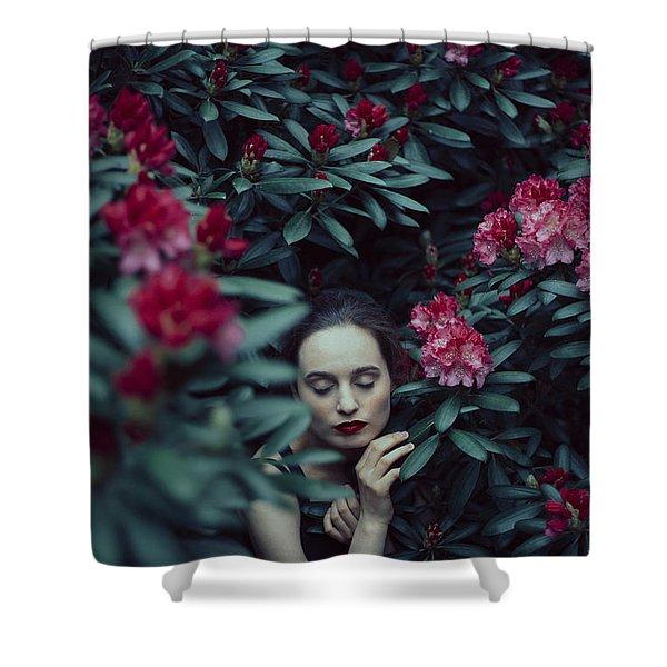 In Bloom II Shower Curtain