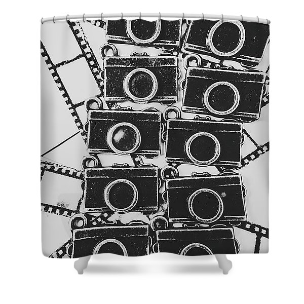 In Camera Art Shower Curtain