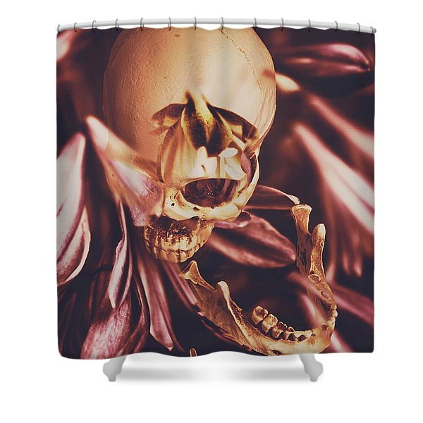 In Contrasts Of Soul Growth Shower Curtain