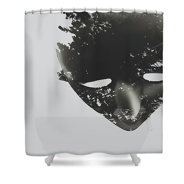 In Creation Of Thought  Shower Curtain