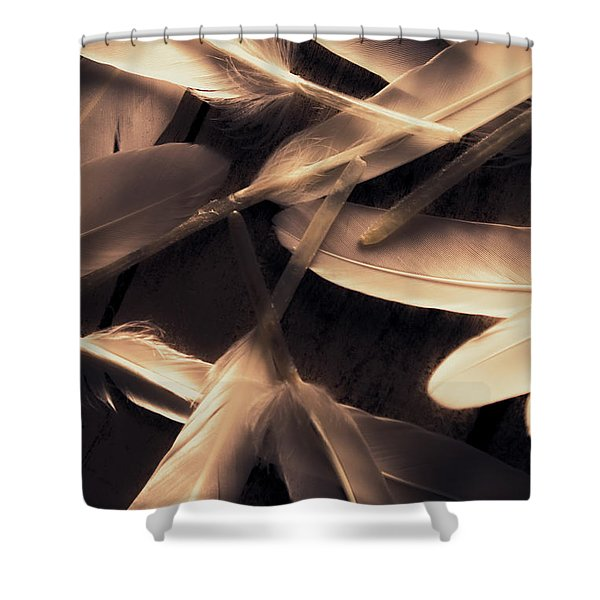 In Delicate Forms Shower Curtain