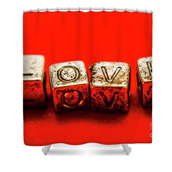 In Enduring Love Shower Curtain
