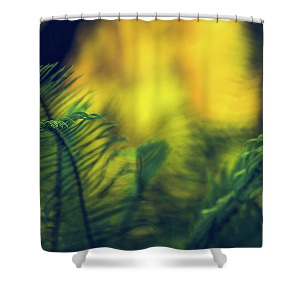 In-fern-o Shower Curtain