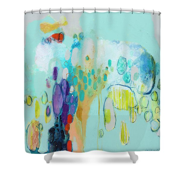 In Front Of The Children 2 Shower Curtain