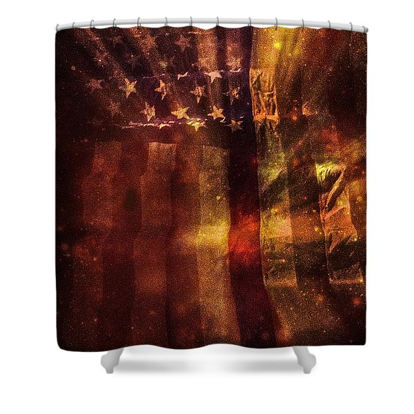 In Full Glory Shower Curtain