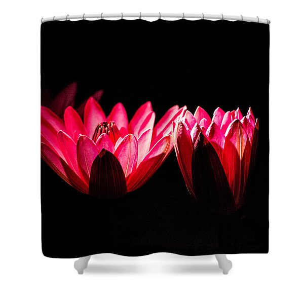 In Light There Is Hope Shower Curtain