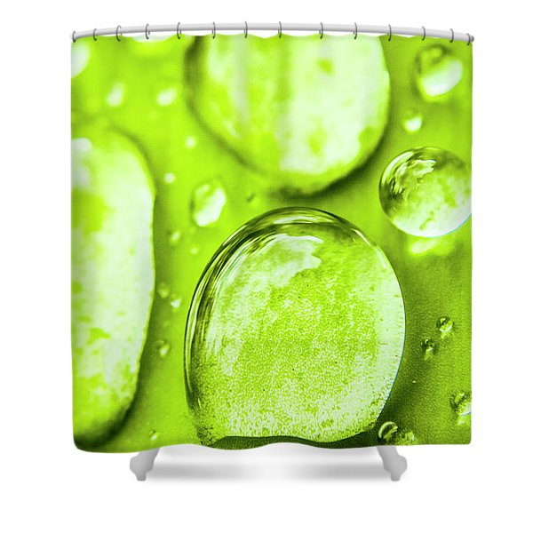 In Natural Macro Shower Curtain