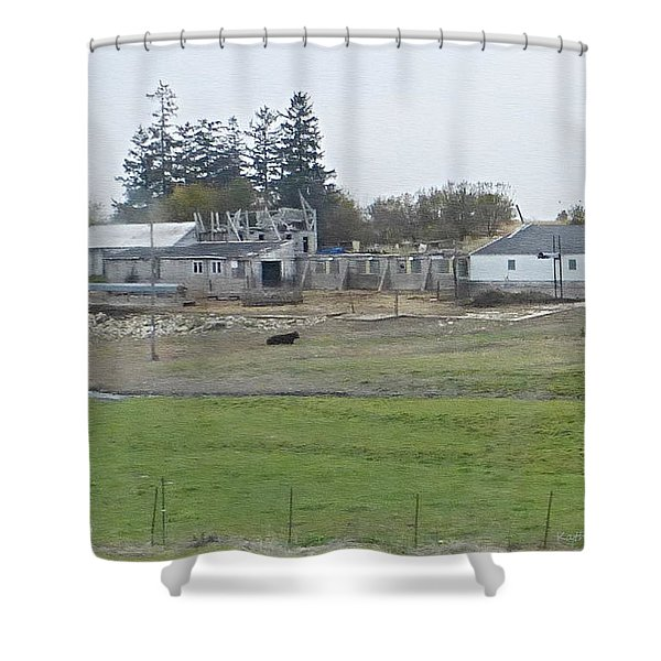 All Fall Down Shower Curtain