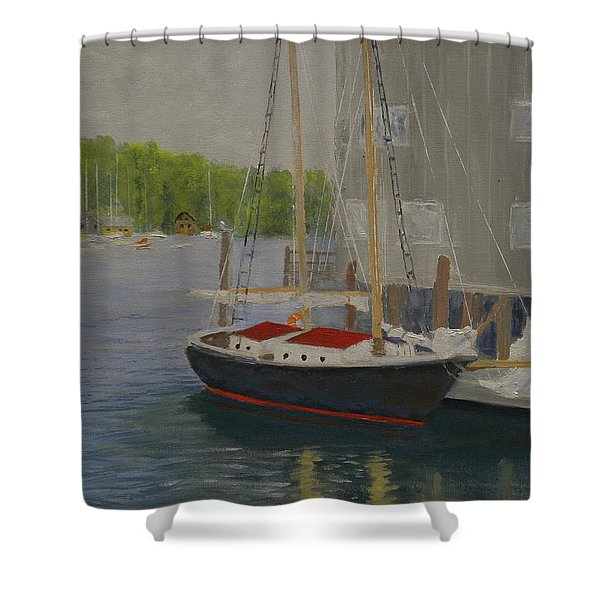 In Port Shower Curtain