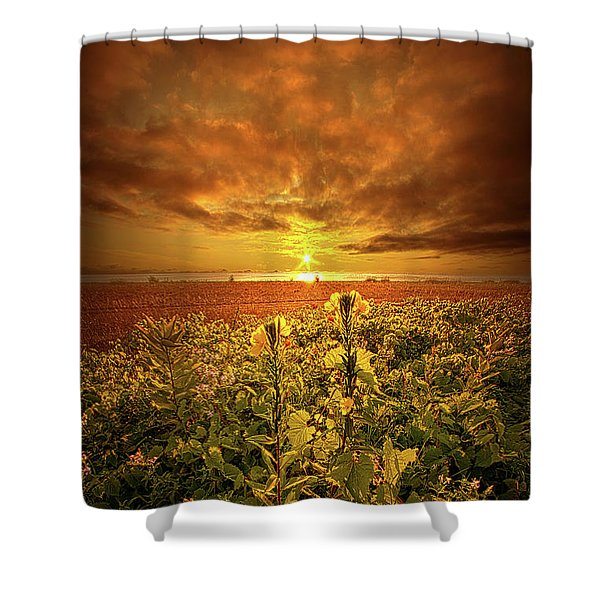 In Remembrance Shower Curtain