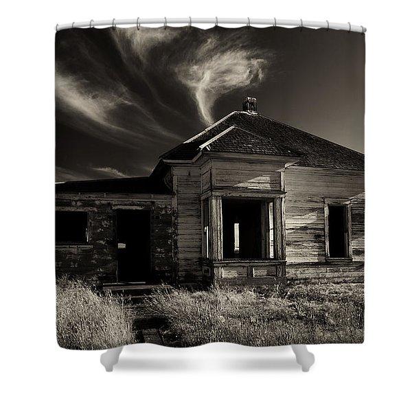 In Ruin Shower Curtain