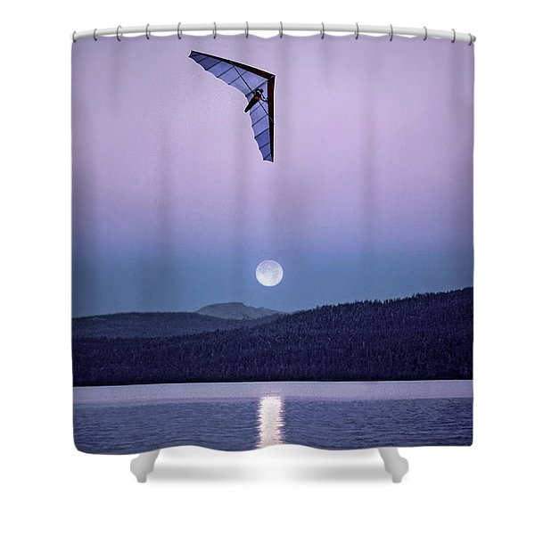 In The Air Tonight Shower Curtain