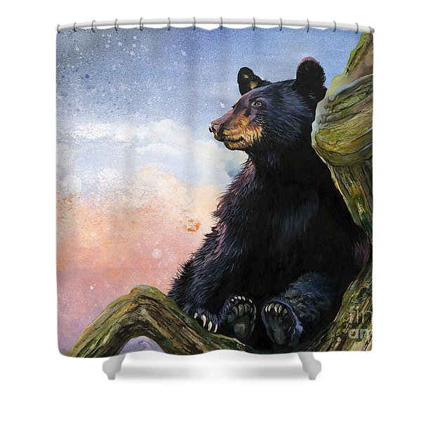 In The Eyes Of Innocence  Shower Curtain