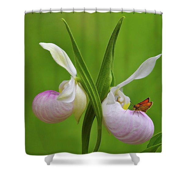 In The Fen Shower Curtain