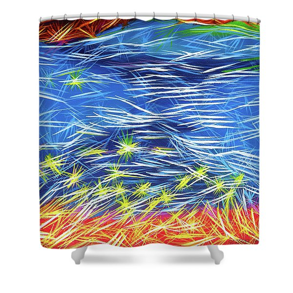 In The Flow Shower Curtain