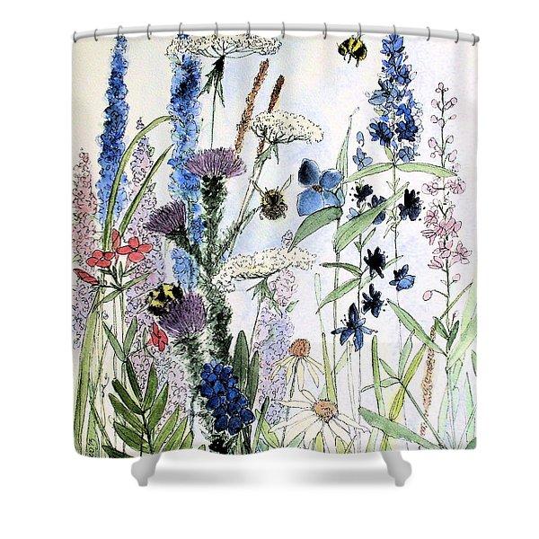 In The Garden Shower Curtain