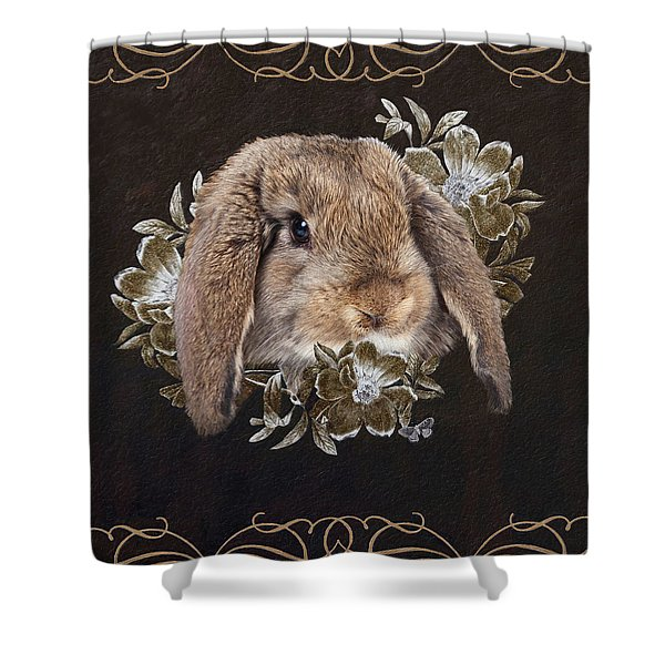 In The Garden Of Whispers Shower Curtain