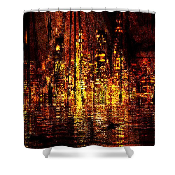 In The Heat Of The Night Shower Curtain