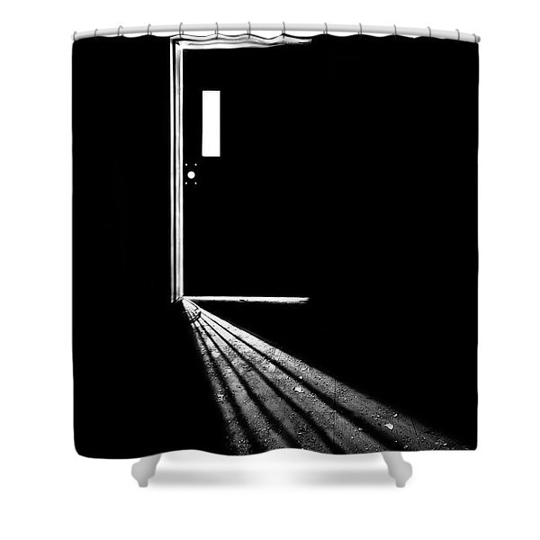 In The Light Of Darkness Shower Curtain