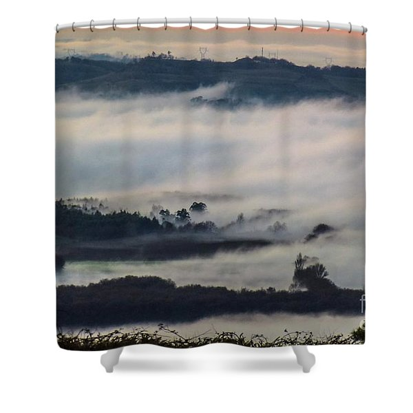 In The Mist 2 Shower Curtain