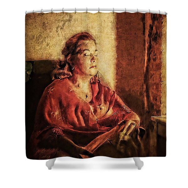 In The Moment Shower Curtain