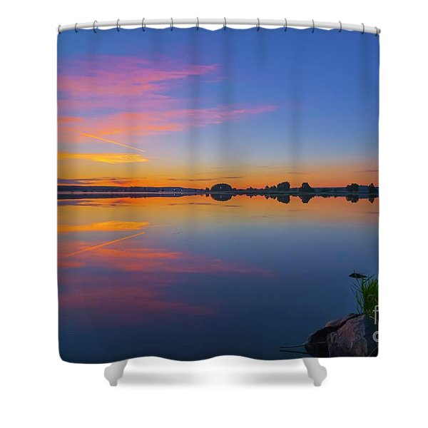 In The Morning At 03.40 Shower Curtain