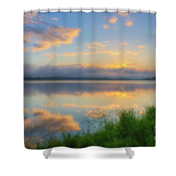 In The Morning At 04.47 Shower Curtain
