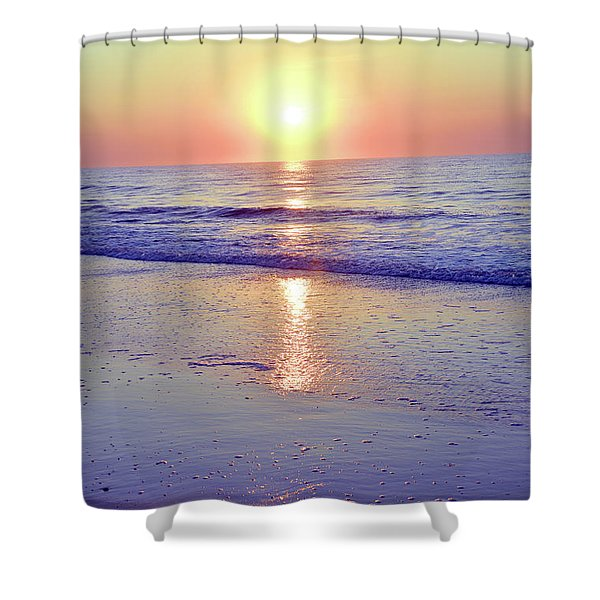In The Morning Light Everything Is Alright Shower Curtain