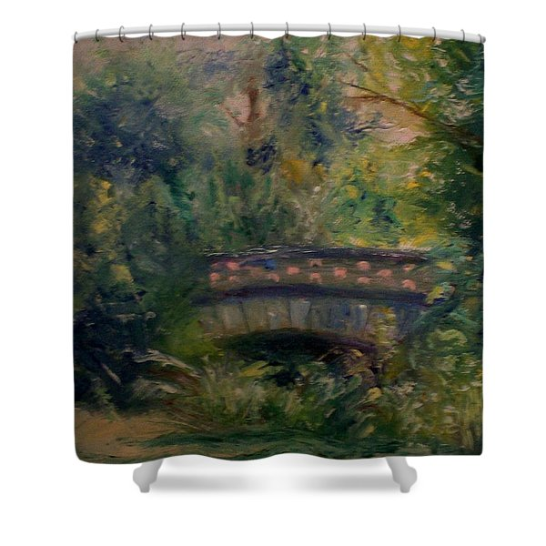 In The Park Shower Curtain